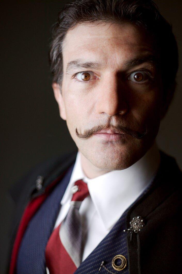 Antonio Banderas as Dali – ©Theo & Juliet Photography (310 ... Antonio Banderas